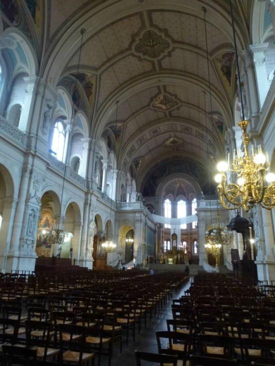 Paris vu par Djamila Eglise de la Trinité