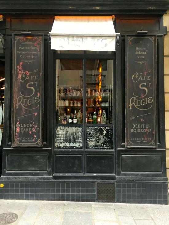 Café Saint Régis - rue Saint Louis en l'Ile