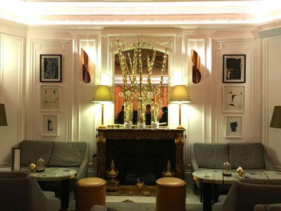 Hôtel Vernet le bar