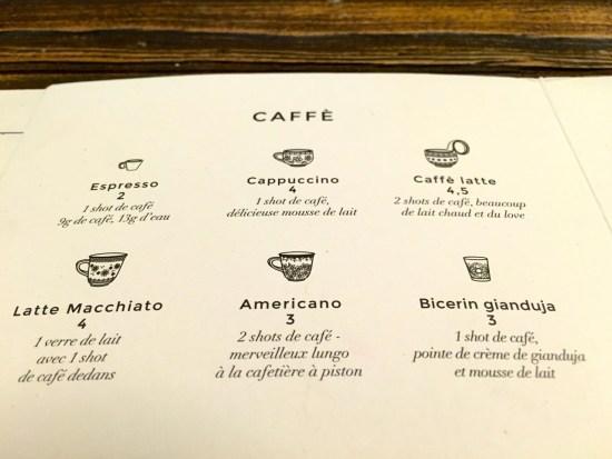 les cafés du Biglove caffé