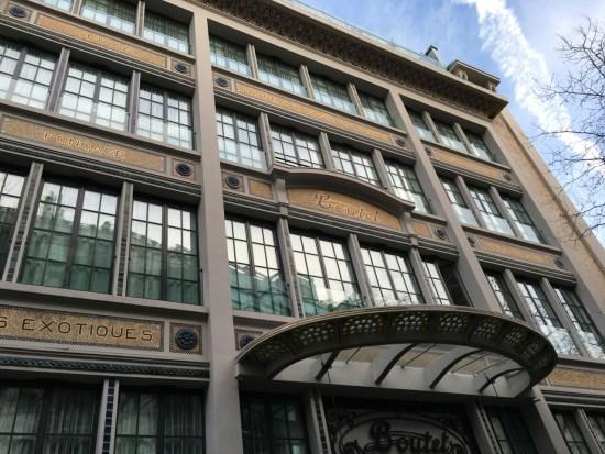 hôtel Boutet - la façade