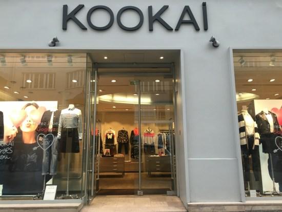 Kookai rue de Passy