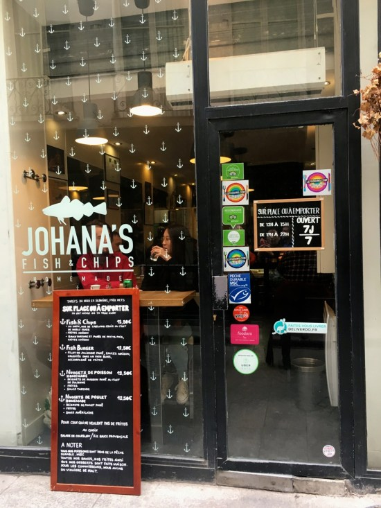 rue Saint-Sauveur - Johana's fish&chips