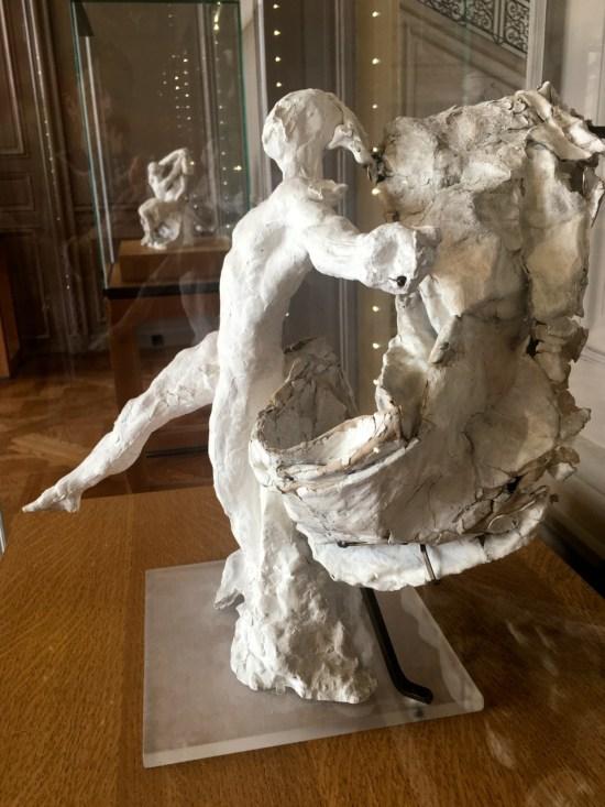 Mercure avec draperie - Rodin