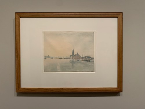 Venise : San Giorgio Maggiore 1819