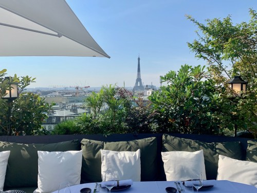 Restaurant MUN Paris - la vue