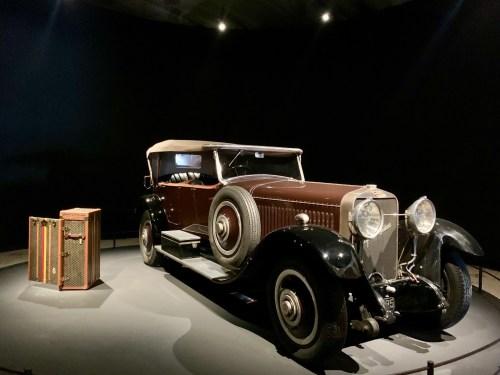 Exposition LUXES - véhicule Hispano Suiza