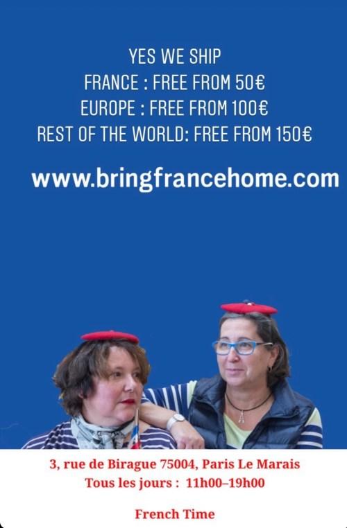 Bring France Home - l'équipe de choc