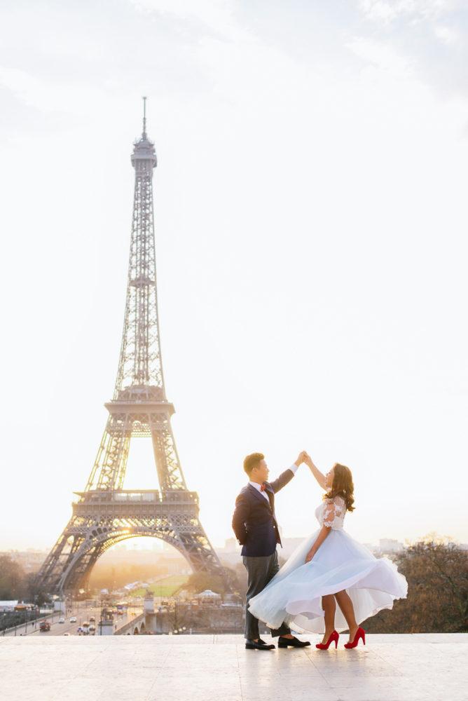 Pre Wedding Photos In Paris Frans Portfolio