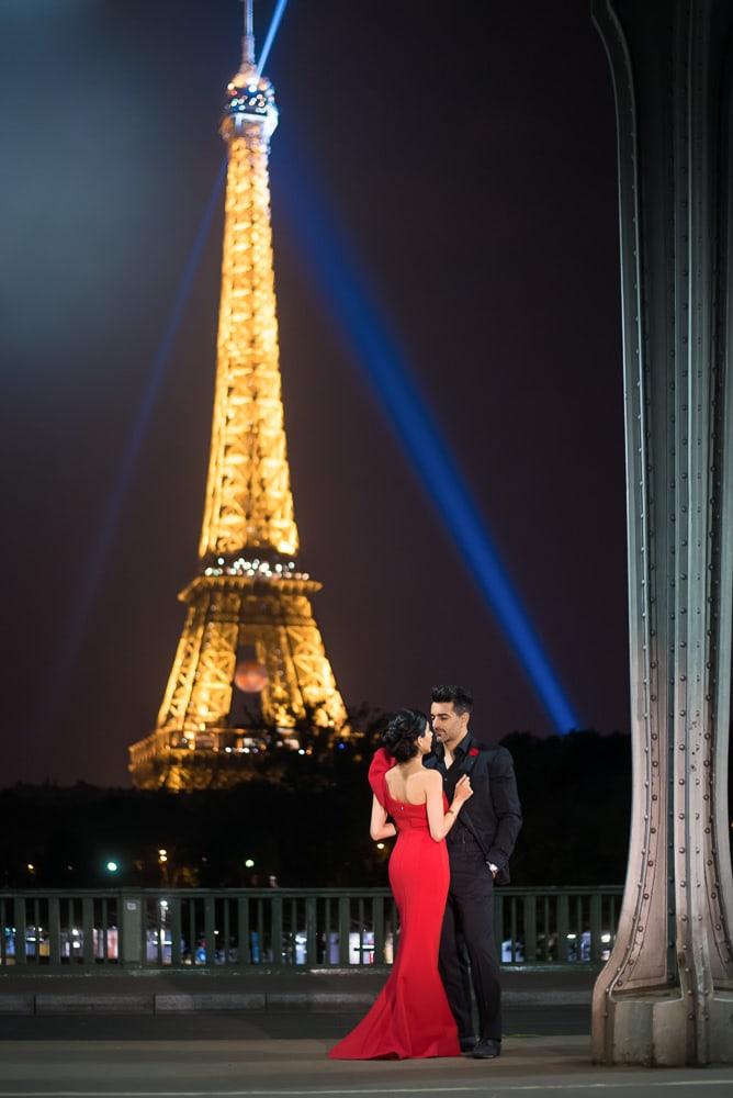 Paris Night Photoshoot