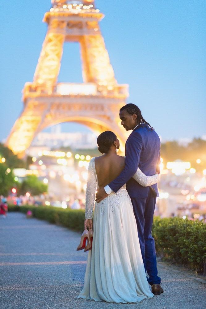 Paris Night Photoshoot for Couples