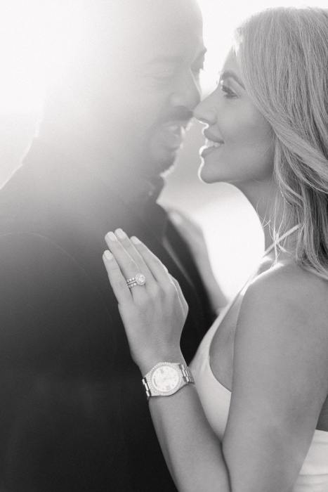 Proposal photographer Paris - close-up picture of engagement ring