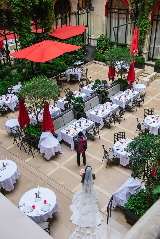 Plaza Athenee Paris Wedding - -34