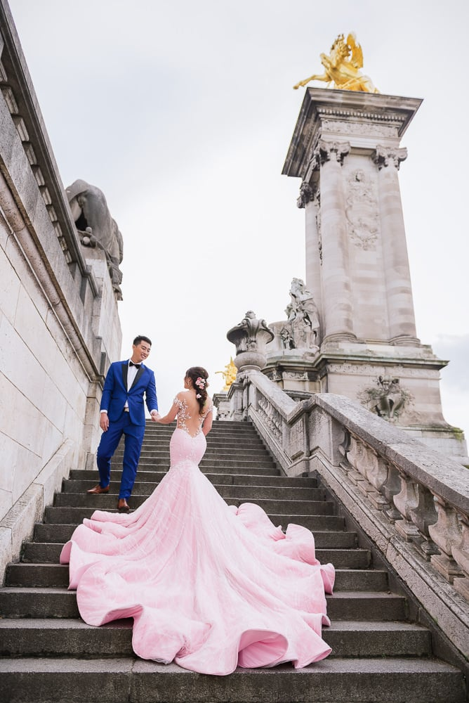 the most beautiful paris pre wedding photography