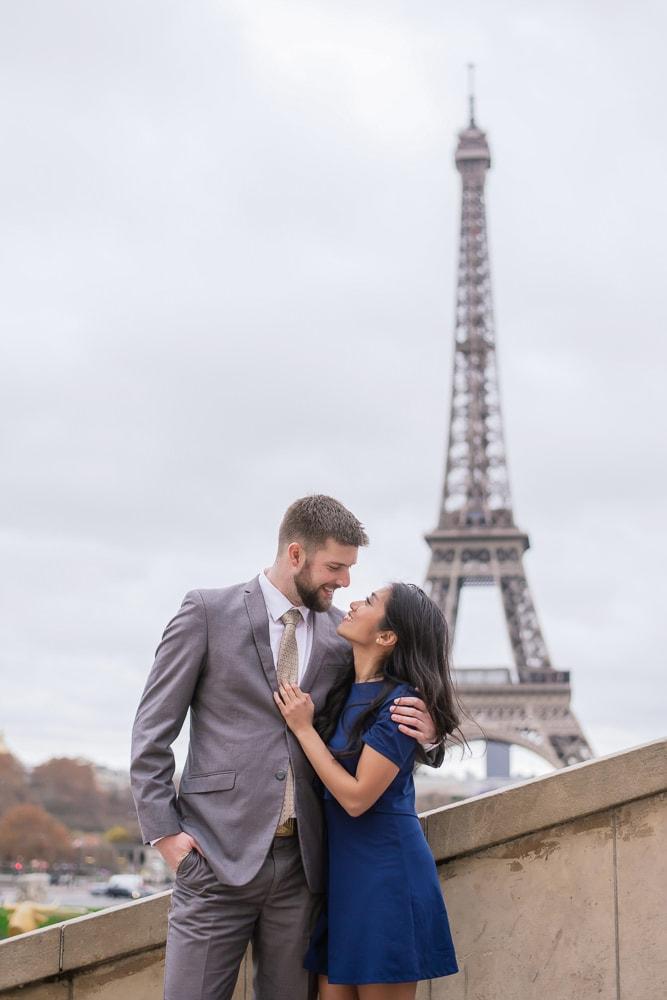 Paris Wedding Anniversary Photoshoot