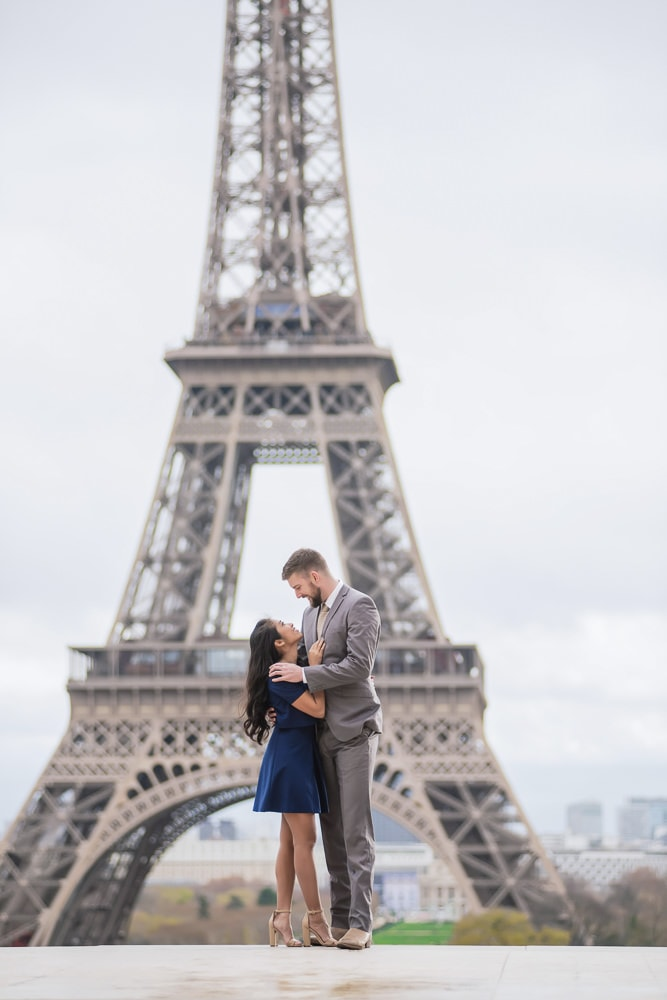 Wedding Anniversary Photoshoot in Paris