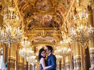 Pictures couples – Paris Opera pre wedding photography