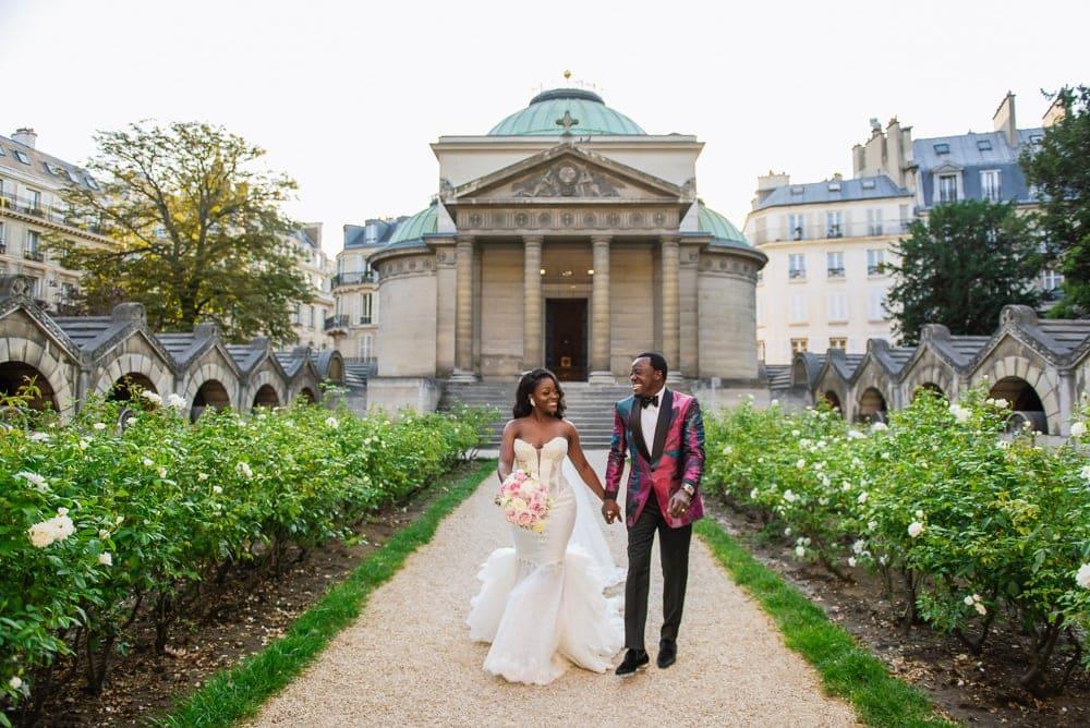 Plaza Athenee Paris Wedding – Chapelle Expiatoire ceremony -11