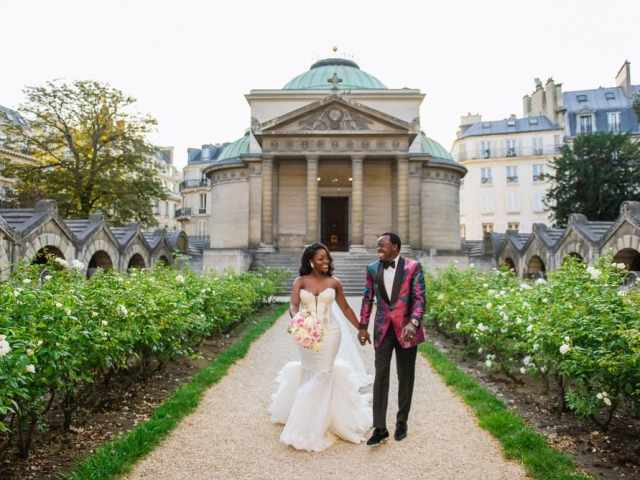 Plaza Athenee Paris Wedding – Chapelle Expiatoire ceremony -11