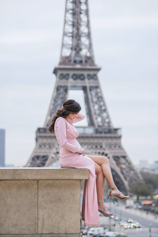 Maternity Photo Shoot in Paris