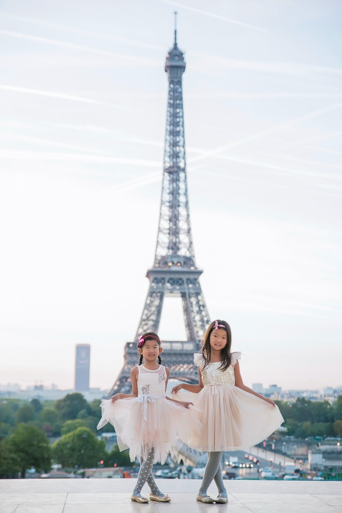 family photo shoot in paris 13