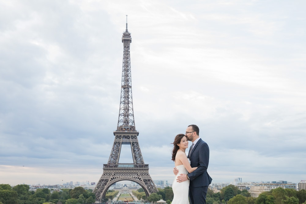 Paris wedding image