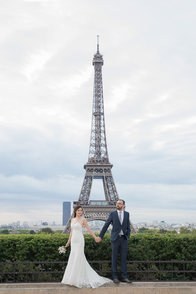 Wedding photos by The Paris Photographer team