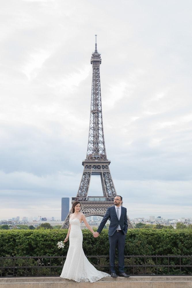Wedding photos by The Paris Photographer team