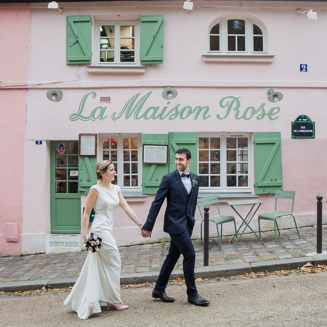 Paris elopement photo captured by affordable photographer Daniel