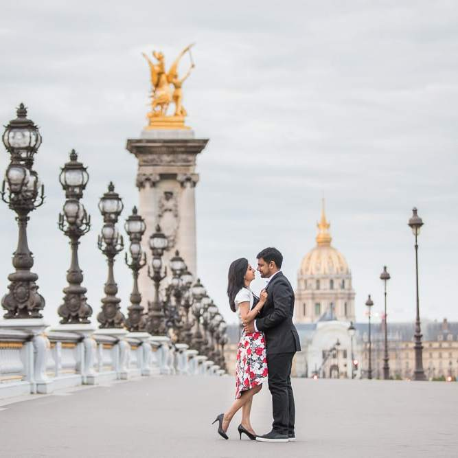 Paris engagement photo by Daniel Paris photographer