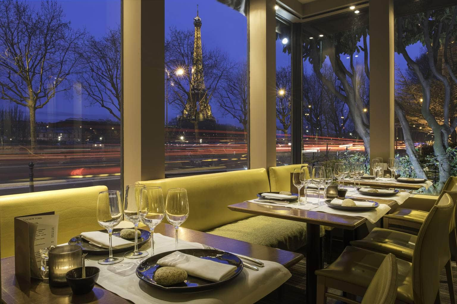 6 new york Paris restaurant with a view