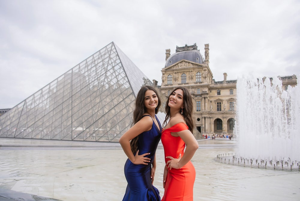 Best friends forever quinceanera in Paris together