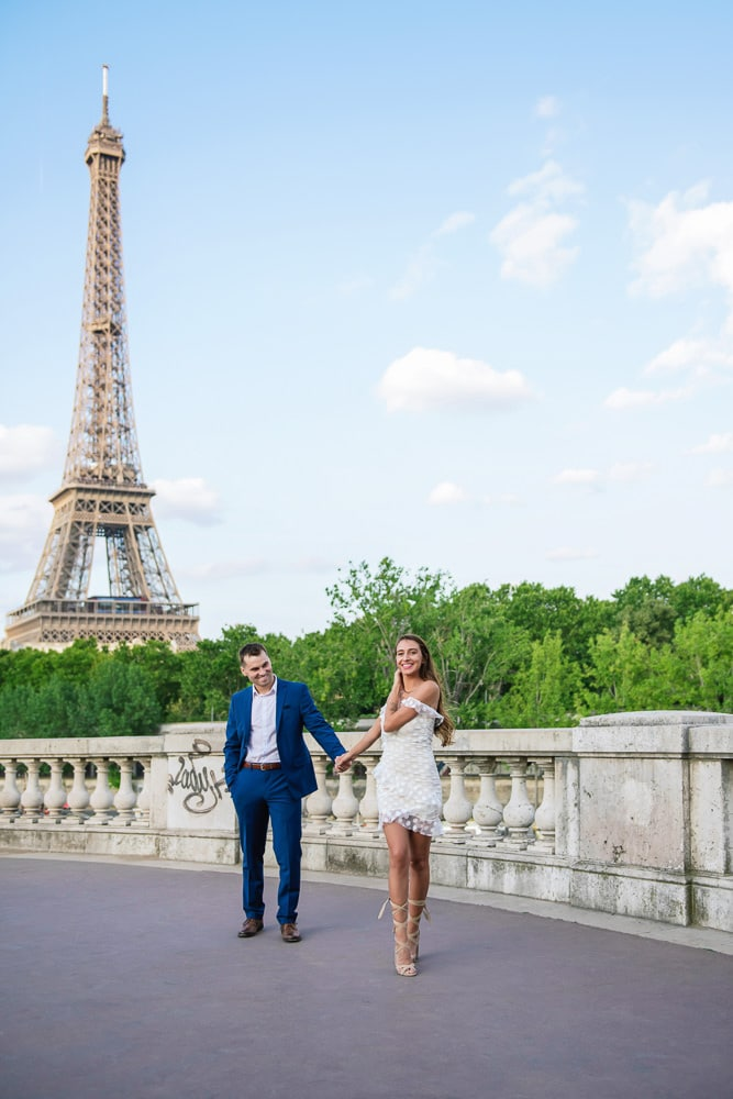 Couples Romantic Photo Session in Paris