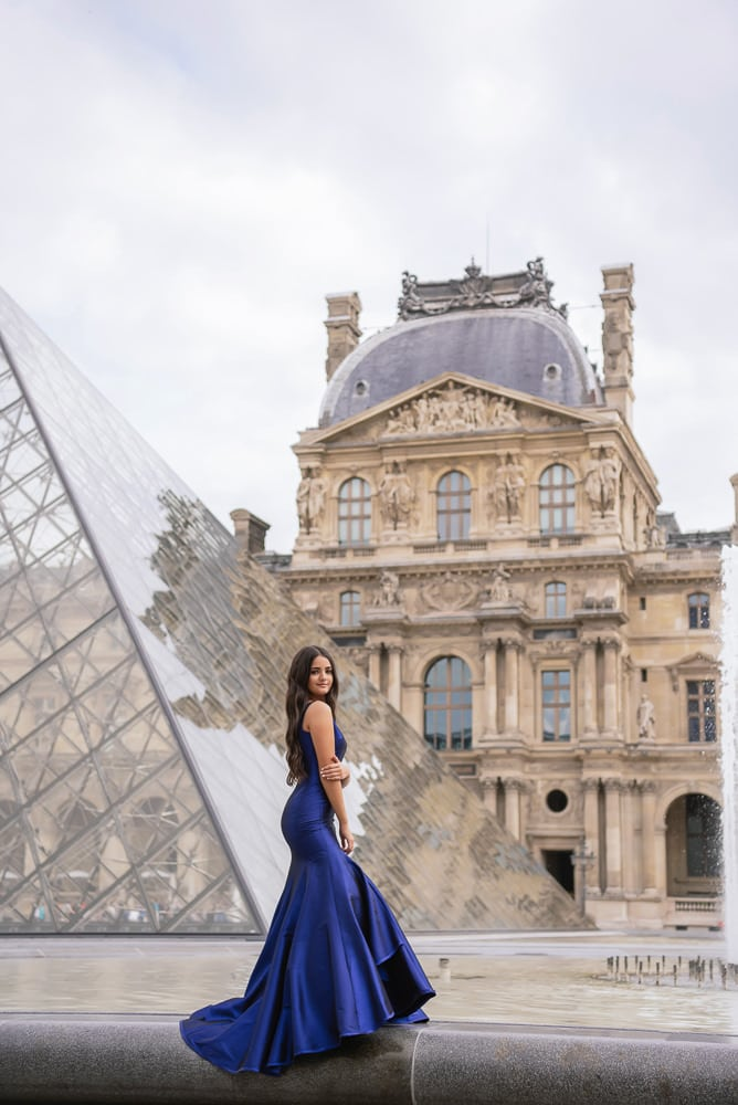 sweet 15 quinceanera - blue dress
