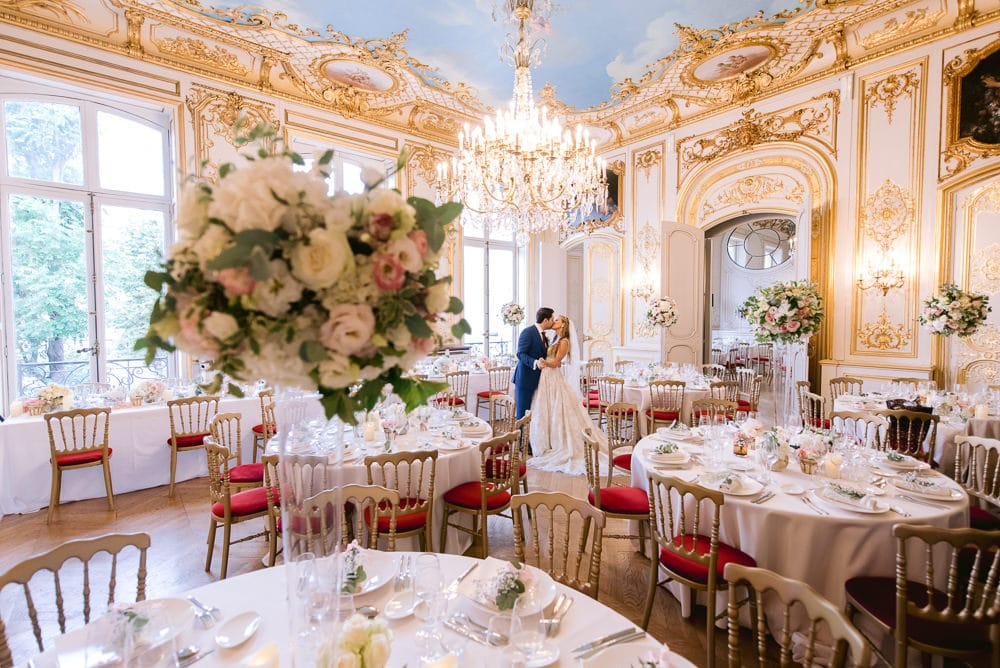 Paris wedding venues 2020 Hotel le Marois
