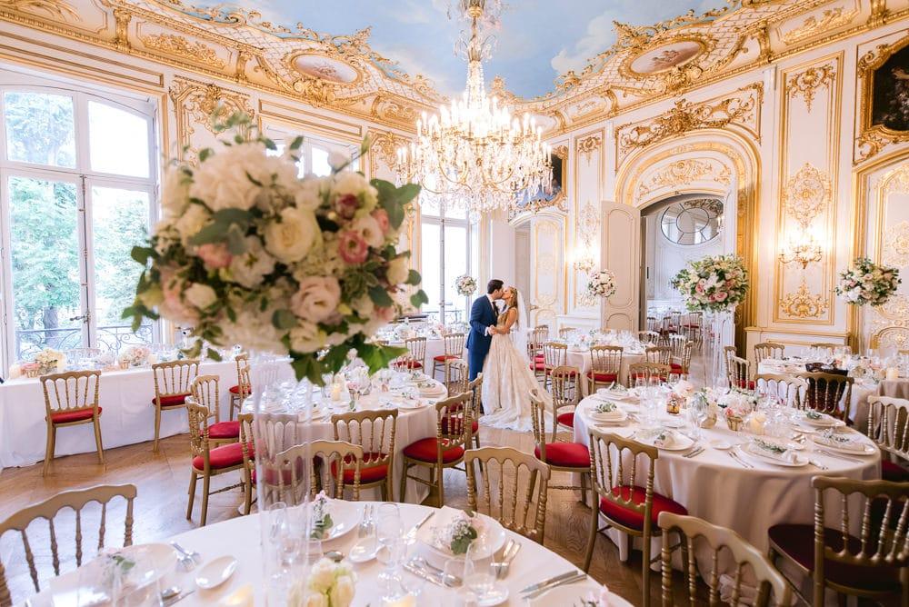 Paris wedding venues 2020 Hotel le Marois