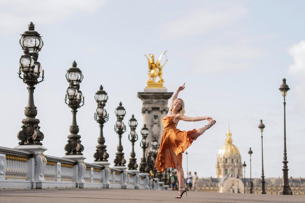 Solo portraits in Paris 2020 by The Paris Photographer