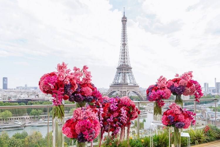 Small wedding venues in Paris France for intimate weddings