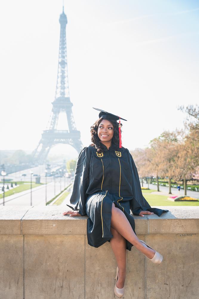 Graduation photos in Paris 3
