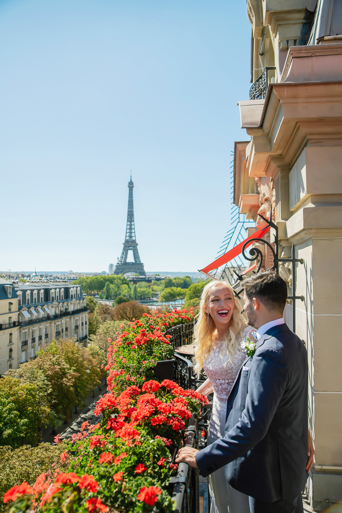 Paris France elopement 1