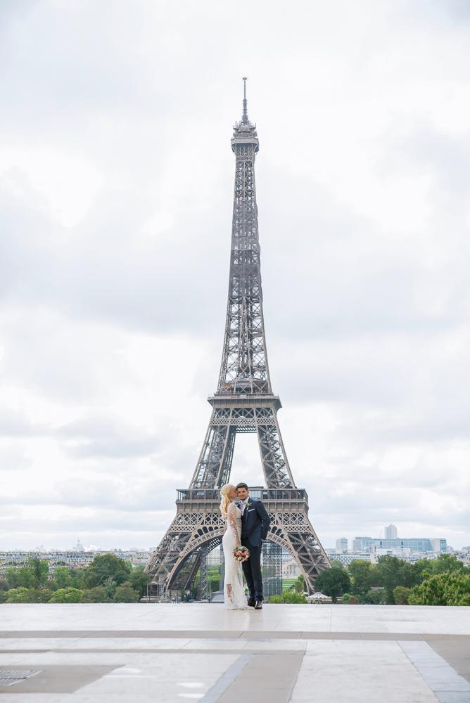 Paris France elopement 100