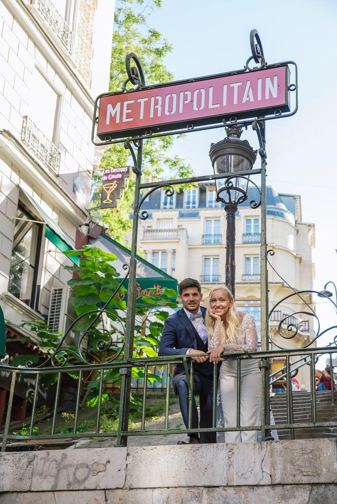 Paris France elopement 46