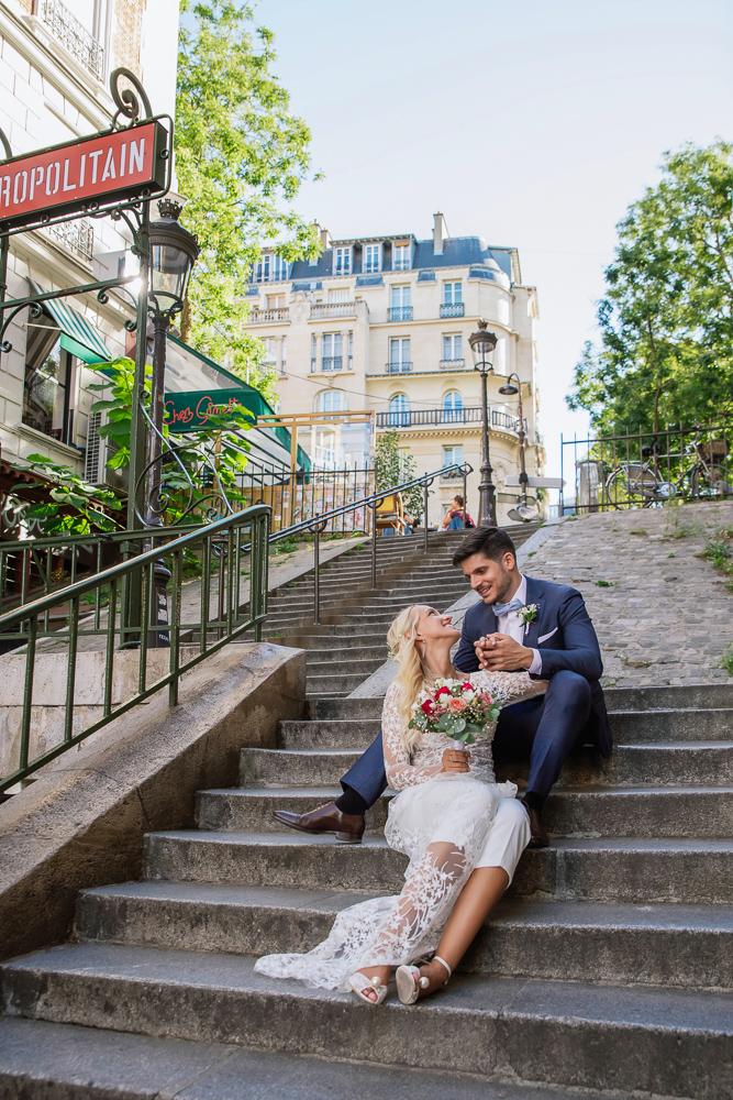 Paris France elopement 49