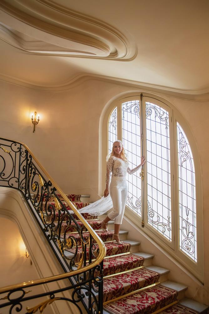 Paris France elopement 5