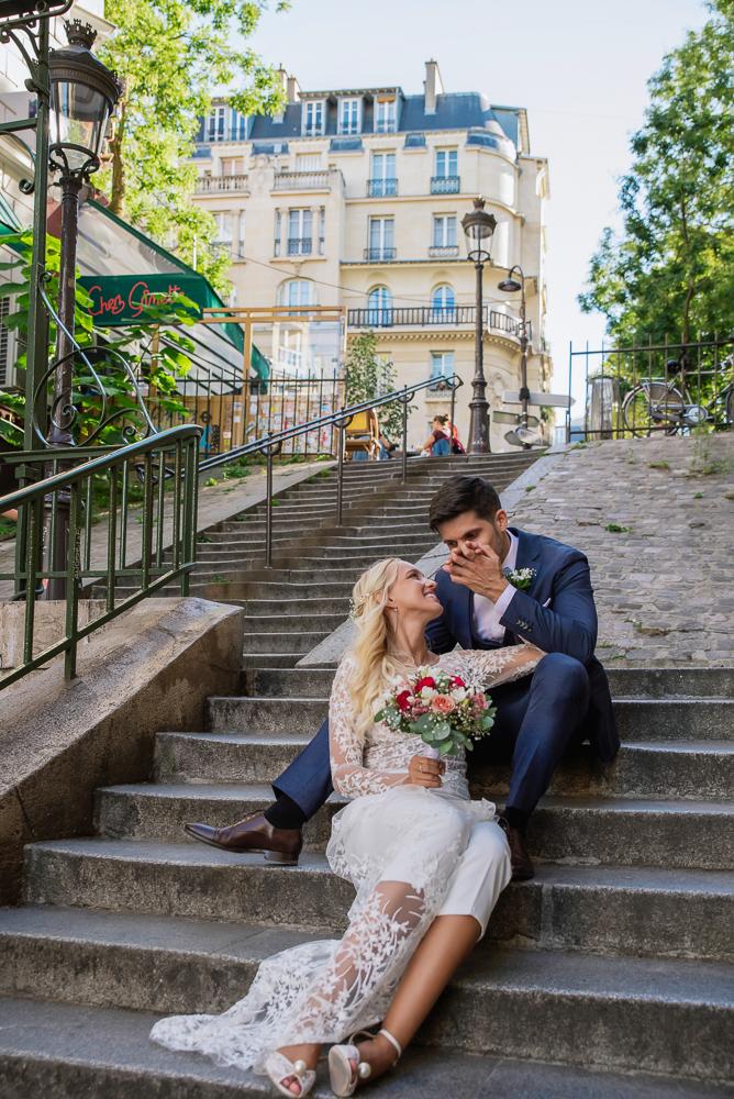 Paris France elopement 50