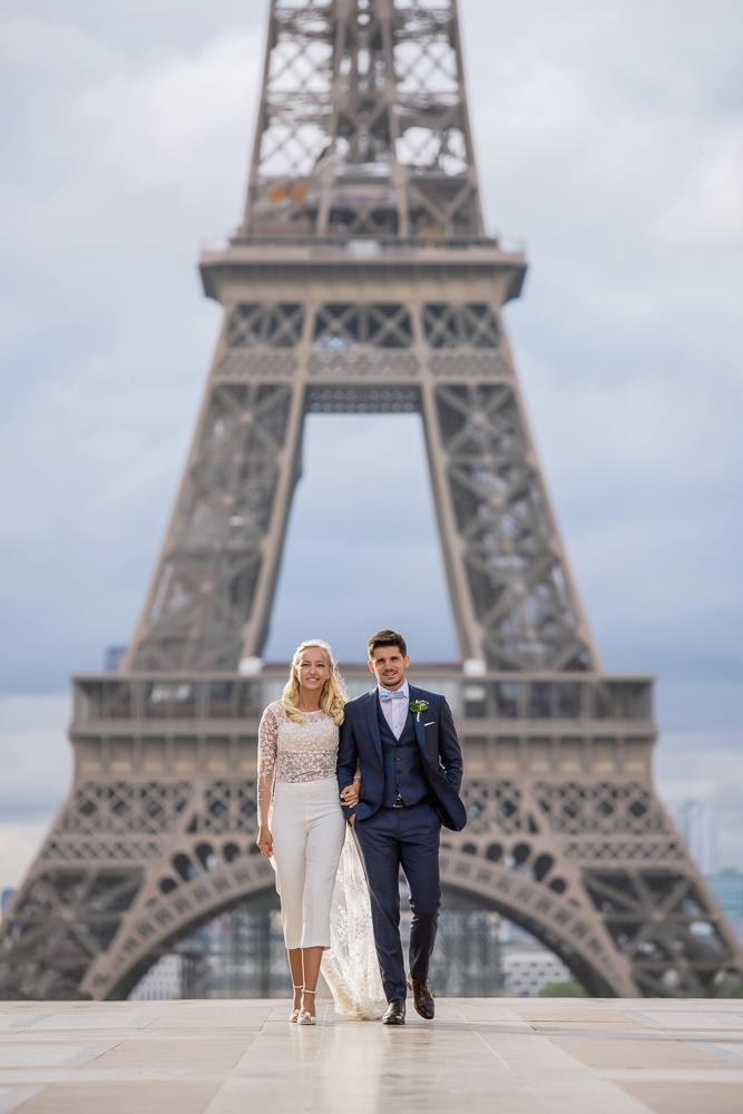 Paris France elopement 58
