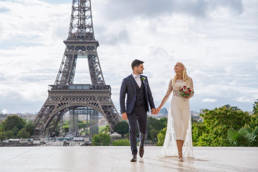 Paris France elopement 73