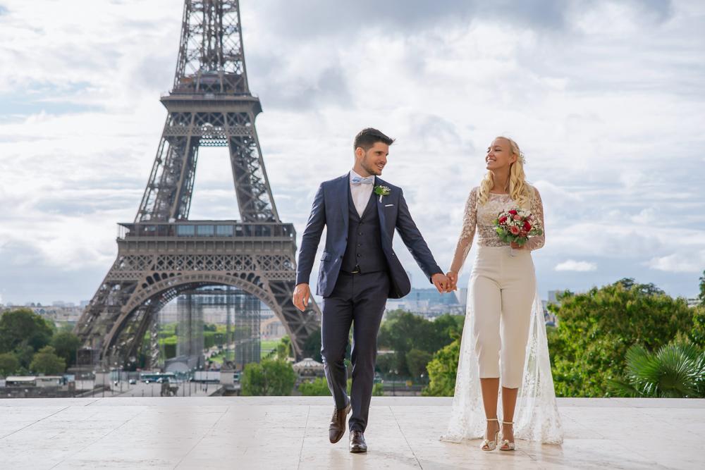 Paris France elopement 75