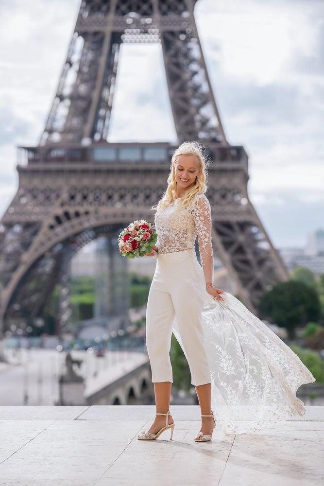 Paris France elopement 78