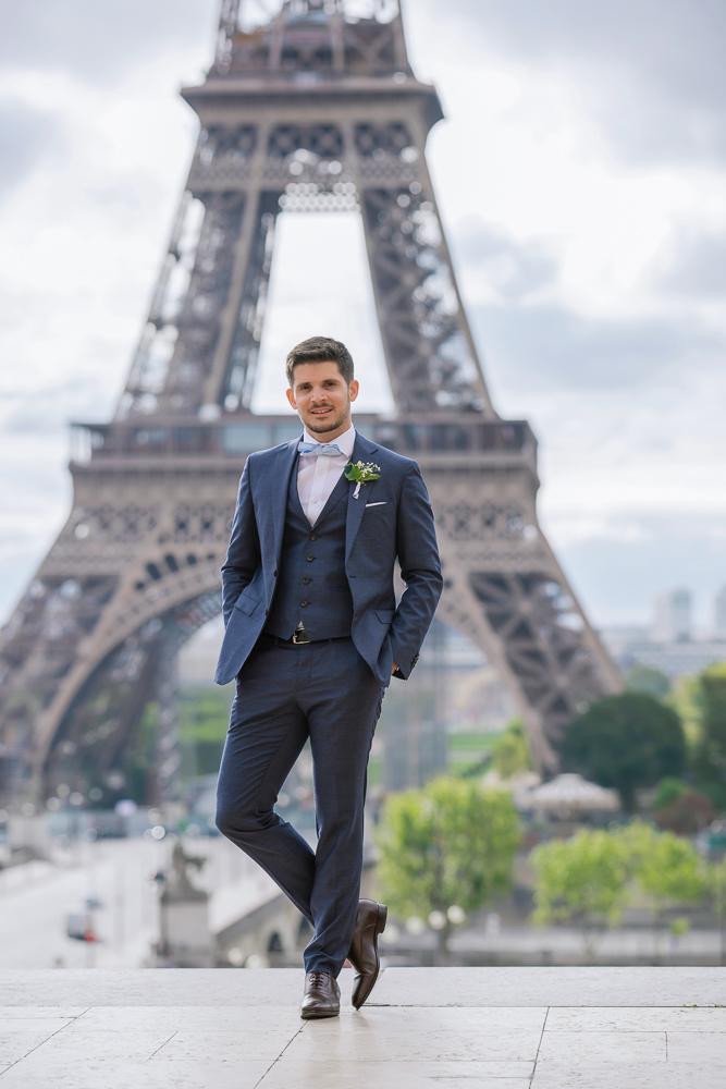 Paris France elopement 80